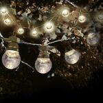 SkyLantern® Original Guirlande Guinguette 3M Transparente LED Guirlande... par LeGuide.com Publicité