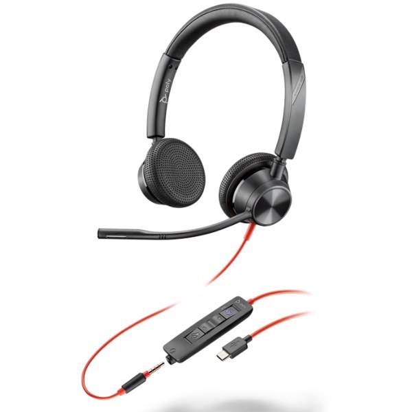 Poly Plantronics Blackwire 3325 USB-C MS