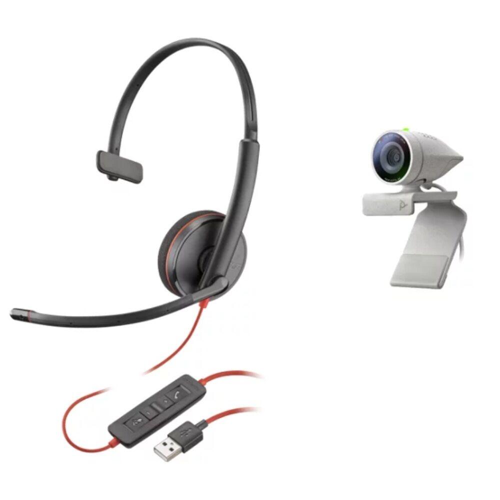 Poly Studio P5 + Blackwire 3210 USB-A