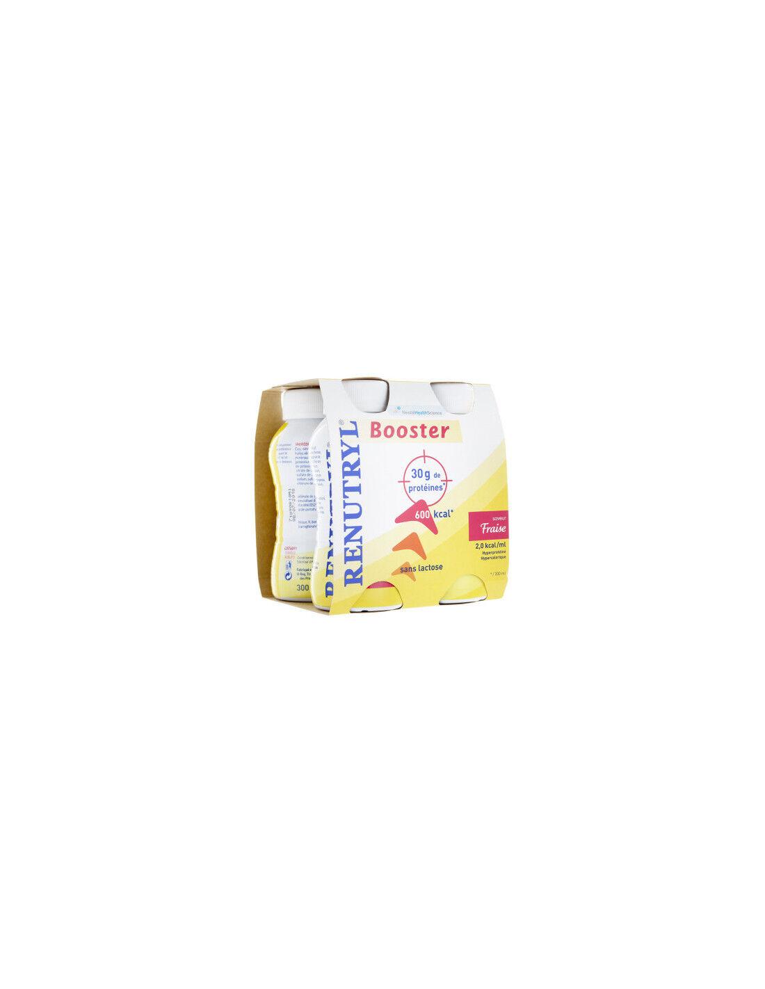Nestlé Renutryl Booster Fraise 4x300ml