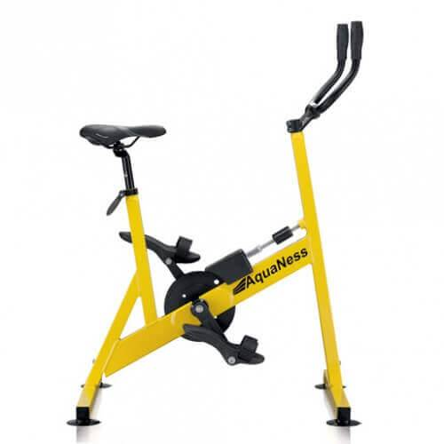 Aquaness Vélo de piscine AquaNess V2 Jaune