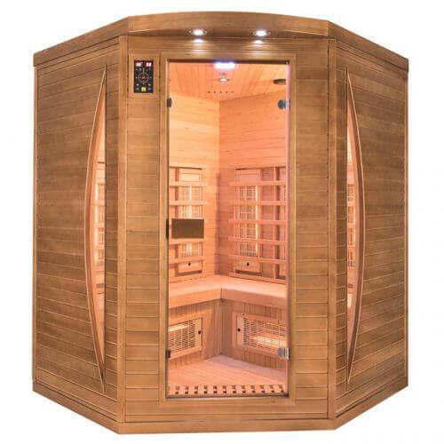 France Sauna Sauna infrarouge Spectra 3 places