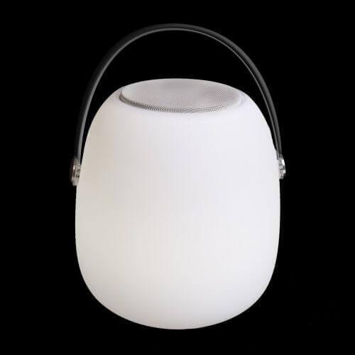 Mypiscine Lampe LED haut parleur Bluetooth - 22 x 22 x 30 cm