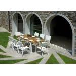 Pegane Ensemble de Jardin table rectangulaire extensible + 8 chaises... par LeGuide.com Publicité