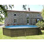 sunbay  Sunbay Piscine bois Cannelle 5,51 x 3,51 x h1,19m Piscine bois... par LeGuide.com Publicité