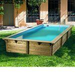 ubbink  Ubbink Piscine bois Sunwater 5,55 x 3,00 x h1,40m Coloris du liner... par LeGuide.com Publicité