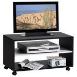 idimex  IDIMEX Meuble TV ATLANTA, noir/blanc - Dimensions (L x H x P):... par LeGuide.com Publicité