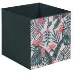 idimex  IDIMEX Lot de 2 tiroirs en tissu TROPICAL - Dimensions (L x H x... par LeGuide.com Publicité