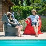 Shelto Pouf Piscine, Jardin & Intérieur géant design Big Bag SHELTO... par LeGuide.com Publicité