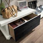 Zendart Design Sélection Coffre-banc design 92x50 avec 1 tiroir ALBA... par LeGuide.com Publicité