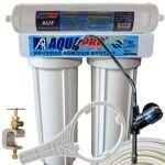 aquapro  AQUAPRO Purificateur Sous évier 2 Niveaux avec Ultramicrofiltration... par LeGuide.com Publicité