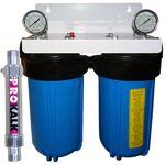 aquapro  AQUAPRO Filtration Anti-Pollution YdroKalk -KDF 300G + Prokalk... par LeGuide.com Publicité
