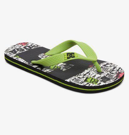 DC Shoes Spray Graffik - Tongs pour garçon - Gris - DC Shoes