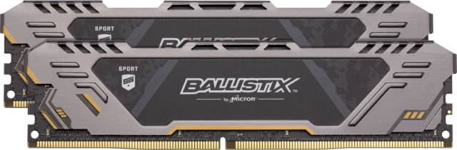 Crucial Ballistix Sport AT 32Go Kit (2 x 16Go) DDR4-2666 UDIMM pour gamers