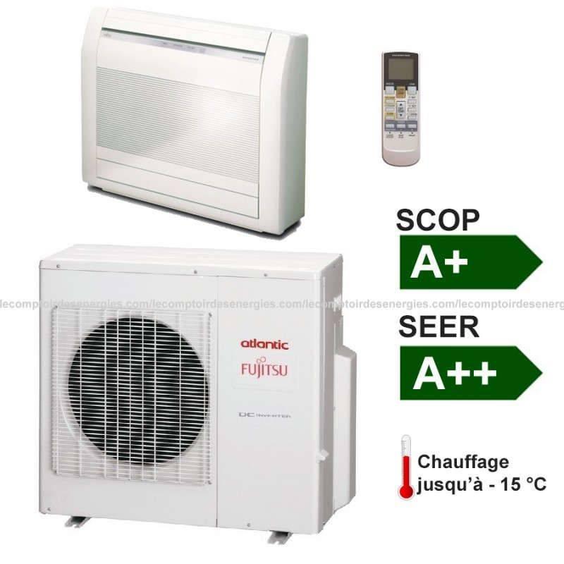 Atlantic Climatiseur type console Atlantic AGYG-LVC 4.5 Kw