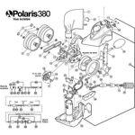 polaris  Polaris N°20 - Roue côté roue unique pour Polaris 380 Roue côté... par LeGuide.com Publicité