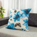 Coussin fleur bleu polyester Coussin fleur avec ses belles fleurs colorées... par LeGuide.com Publicité