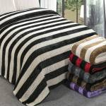 Plaid XXL Gaufre bicolore 220x240cm effet laine blanc-noir polyester... par LeGuide.com Publicité