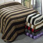 Plaid XXL Gaufre bicolore 220x240cm effet laine choco-taupe polyester... par LeGuide.com Publicité