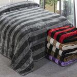 Plaid XXL Gaufre bicolore 220x240cm effet laine gris-anthracite-2 polyester... par LeGuide.com Publicité