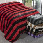 Plaid XXL Gaufre bicolore 220x240cm effet laine noir-rouge polyester... par LeGuide.com Publicité