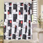 Rideau de douche square polyester Rideau de douche square, ce rideau... par LeGuide.com Publicité