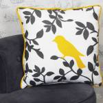 Housse de coussin Bird&Shadow; jaune coton Housse de coussin Bird&Shadow;... par LeGuide.com Publicité