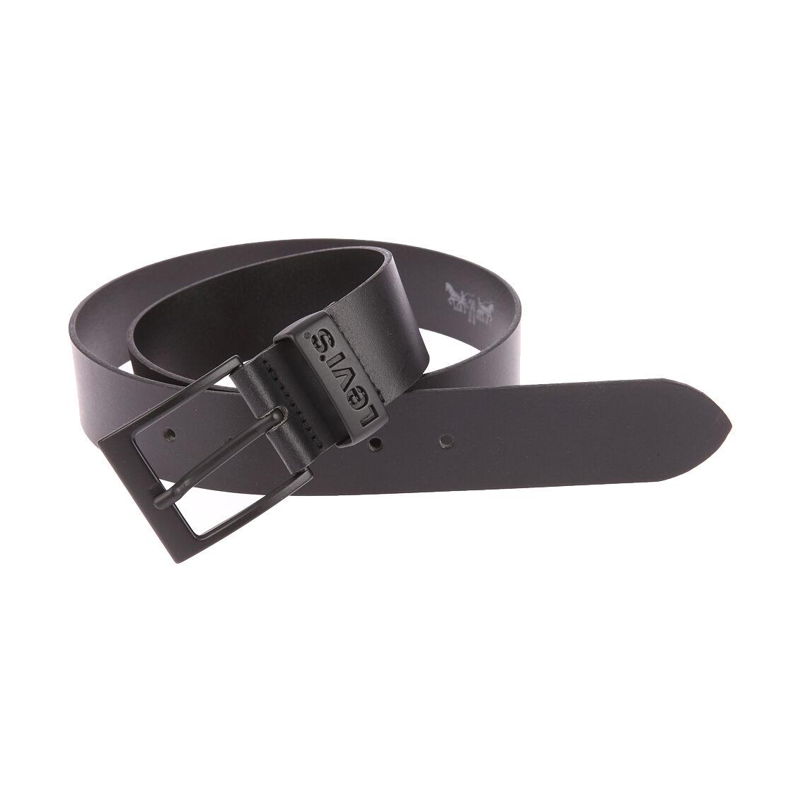 Levi's Accessoires Ceinture Levi's Ashland Gun Metal noire à boucle noire - NOIR -