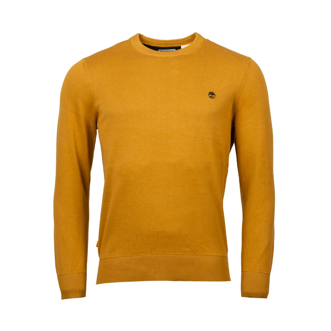 Timberland Pull col rond Timberland en coton camel - CAMEL - S