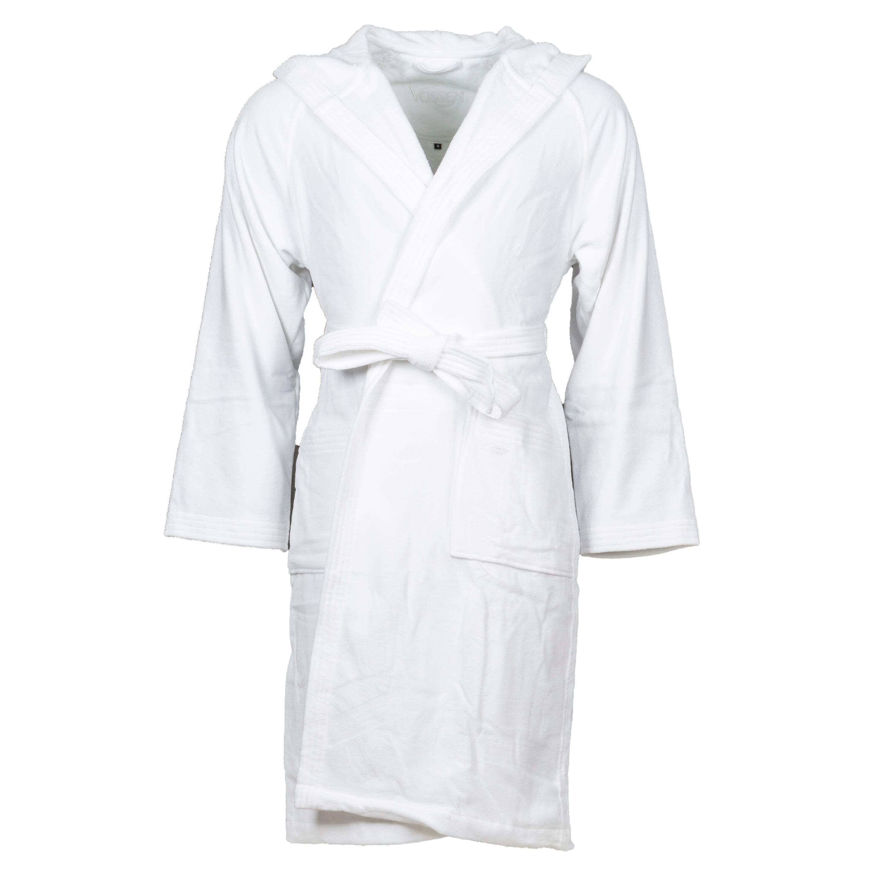 Vossen Peignoir de bain Texas Vossen en coton blanc - BLANC -