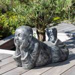 Wanda Collection Statue moine allongé patiné gris Choisissez la statue... par LeGuide.com Publicité