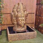 Wanda Collection Fontaine de jardin visage de deesse Dewi 1.30 m doré... par LeGuide.com Publicité