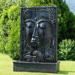 Wanda Collection Grande Fontaine de jardin mur d'eau visage de Bouddha... par LeGuide.com Publicité