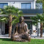 Wanda Collection Grande Statue 2 m Bouddha assis en fibre de verre position... par LeGuide.com Publicité