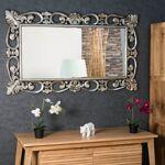Wanda Collection Miroir Cordoue en bois patiné argenté 140 X 80 Craquez... par LeGuide.com Publicité