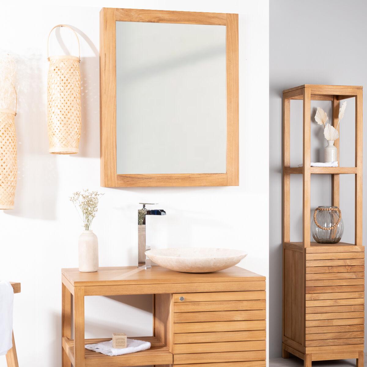 Wanda Collection Miroir armoire de toilette 63