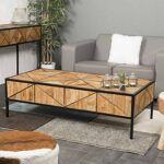 Wanda Collection Table basse teck CASTLE 130 Créez une déco authentique... par LeGuide.com Publicité