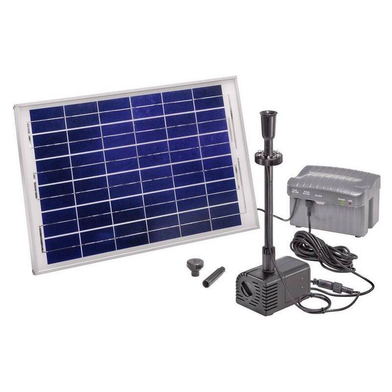 Esotec Kit pompe solaire bassin ou fontaine Siena LED