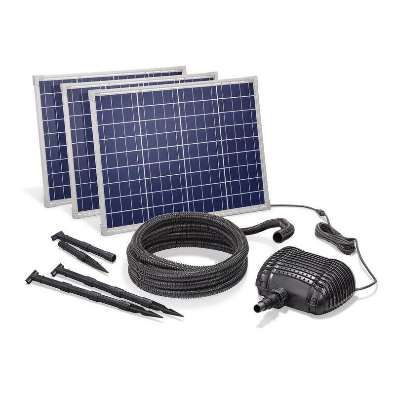 Esotec Kit pompe solaire cascade fontaine gros débit Premium 5000L-150W