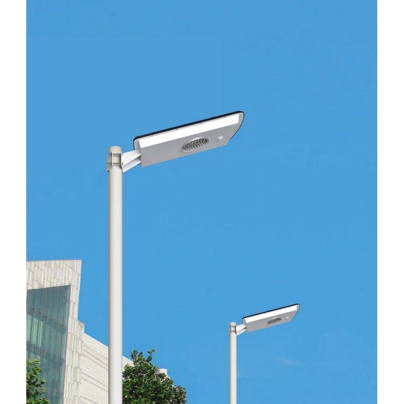 Solairepratique Eclairage solaire exterieur intelligent module solaire 15W intégré, led 10W blanc froid