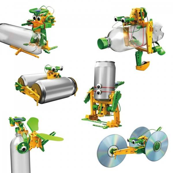 Powerplus Kit jouet solaire Recyclage