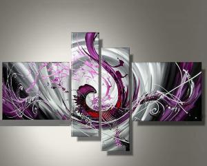 EJRAC Tableaux design rythm n ' fushia