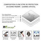 sony  Sony Xperia XZ1 Compact - Vitre de Protection Crystal - TM Concept... par LeGuide.com Publicité