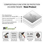 samsung  Samsung Galaxy S4 Mini - Vitre de Protection Crystal - TM Concept... par LeGuide.com Publicité