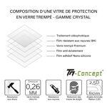 lg electronics  LG V40 ThinQ - Verre trempé intégral avec cadre Noir -... par LeGuide.com Publicité