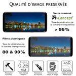 oppo  Oppo F7 - Verre trempé intégral Protect Noir - adhérence 100% nano-silicone... par LeGuide.com Publicité