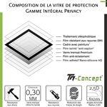 huawei  Huawei Mate 20 - Verre trempé intégral Protect Noir - adhérence... par LeGuide.com Publicité