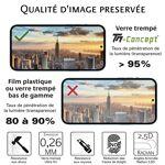 samsung  Samsung Galaxy J6 (2018) - Verre trempé intégral Protect Noir... par LeGuide.com Publicité