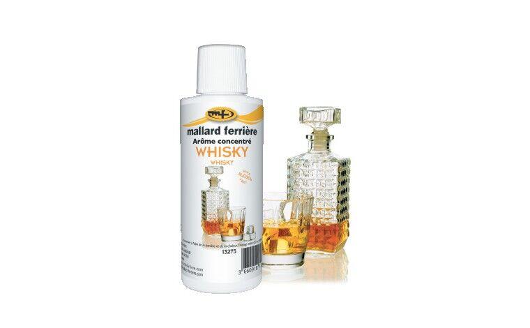 Mallard ferrière Arôme alimentaire concentré Whisky 125ml