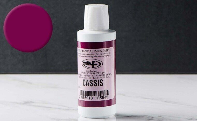 Mallard ferrière Colorant alimentaire liquide Cassis 100ml